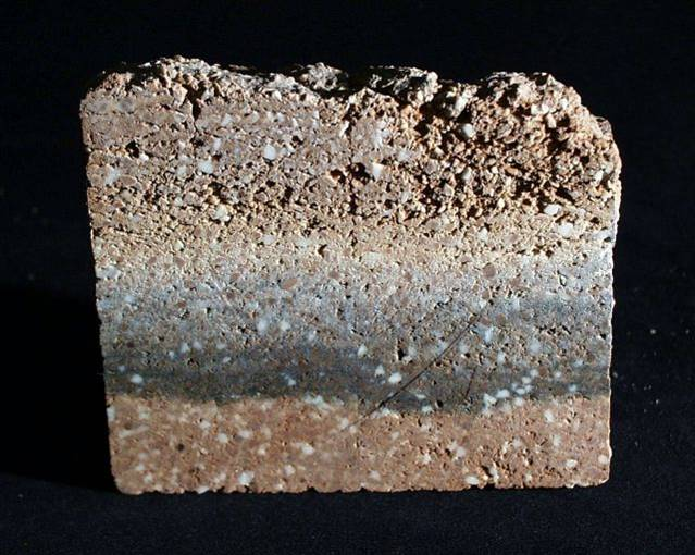 Brick colour as indicator