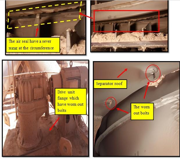cement raw mill O-seap seperator