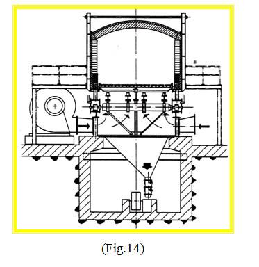 grate cooler flap valve